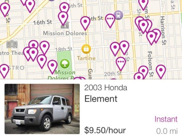 Falë një aplikacioni tashmë mund të merrni makina me qira