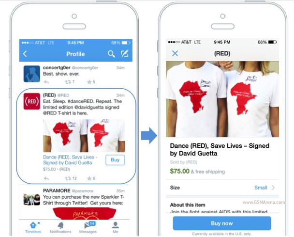 """Twitter teston veçorinë """"Buy now"""", për të blerë produkte direkt nga rrjeti social"""