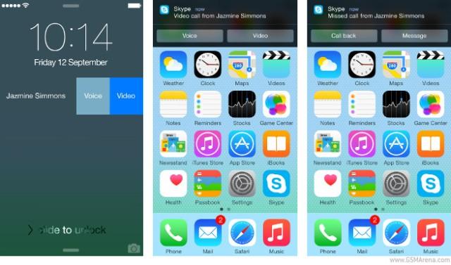 Versioni i ri Skype 5.5 për iOS do të ketë njoftime më interaktive