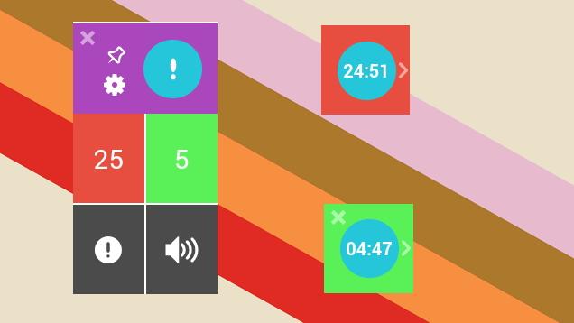 TimeDoser është një kohëmatës që përdor teknikën Pomodoro për Chrome
