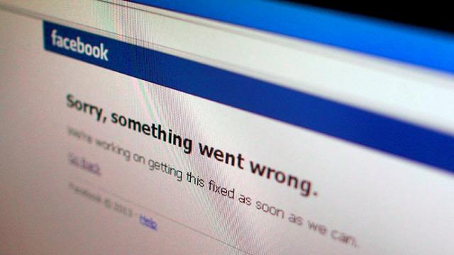 Facebook kthehet sërish online pas një ndërprerjeje të shkurtër
