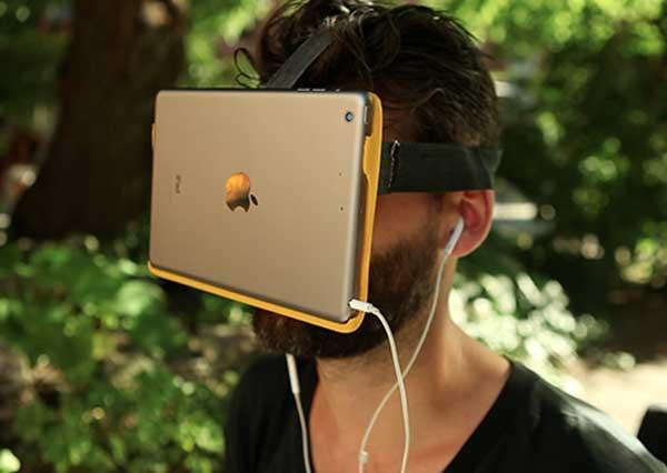 Me anë të tabletit tuaj ju mund të eksperimentoni realitetin virtual