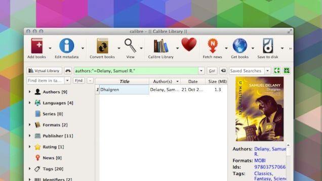 Calibre 2.0 shton një editues, krahasimin e librave dhe opsione të tjera