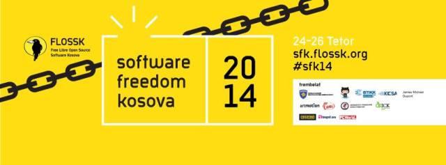 Këtë fundjavë mbahet konferenca Software Freedom Kosova 2014