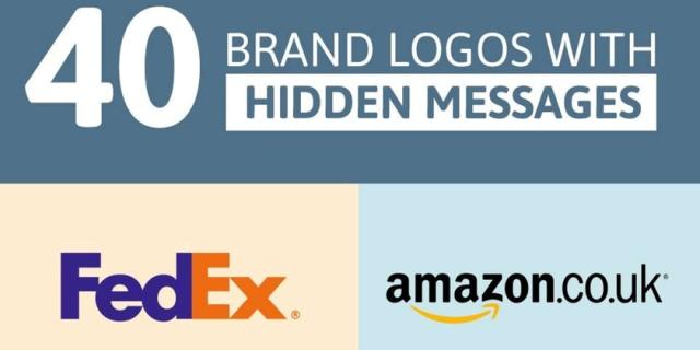 40 logo që mbartin edhe mesazhe të fshehura (Infografik)