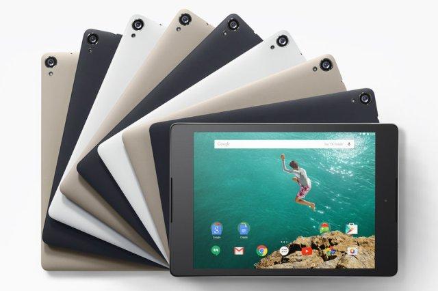 Tableti Nexus 9 i disponueshëm për porositje