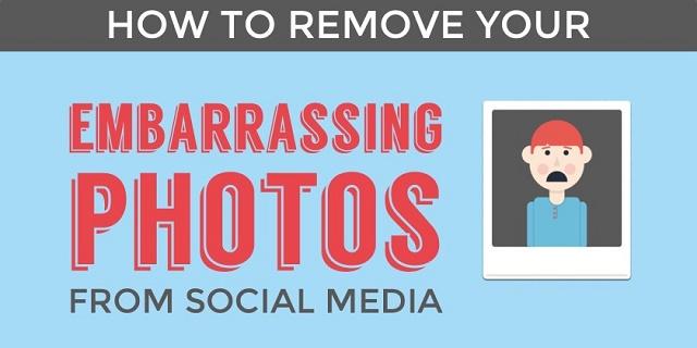 Si të largoni fotot tuaja që ju shqetësojnë nga rrjetet sociale (Infografik)