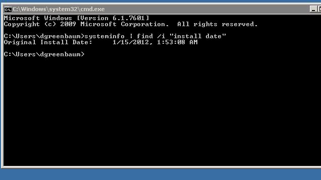 Ja se si të mësoni se kur e keni instaluar sistemin Windows