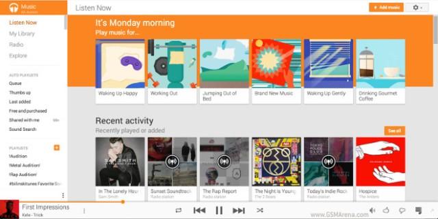 Njihuni me cilësitë e reja të shërbimit Google Play Music