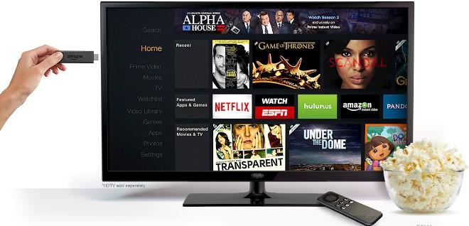 Amazon ka lançuar shërbimin për televizorë Fire Tv Stick