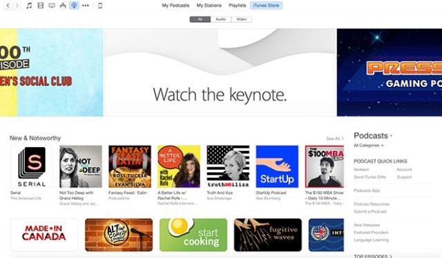 Apple iTunes Store, me një pamje të re