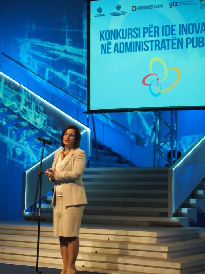 """Shpallen 7 projektet fituese të konkursit  mbi """"Idetë Inovative në Administratën Publike"""""""