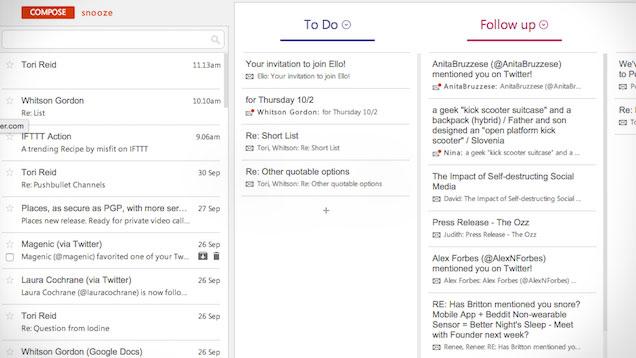 Shtojca Sortd shndërron ndërfaqen tuaj të Gmail-it në lista të organizuara