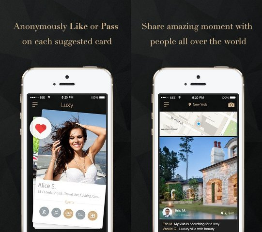 """""""Luxy"""", aplikacioni i ri social që lidh vetëm të famshmit e të pasurit"""