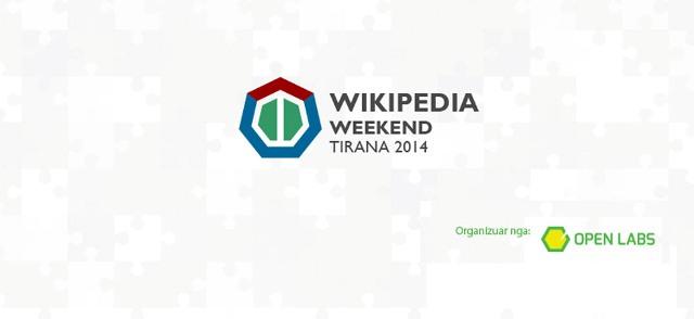 Gjatë kësaj fundjave do të mbahet eventi Wikipedia Weekend në Tiranë