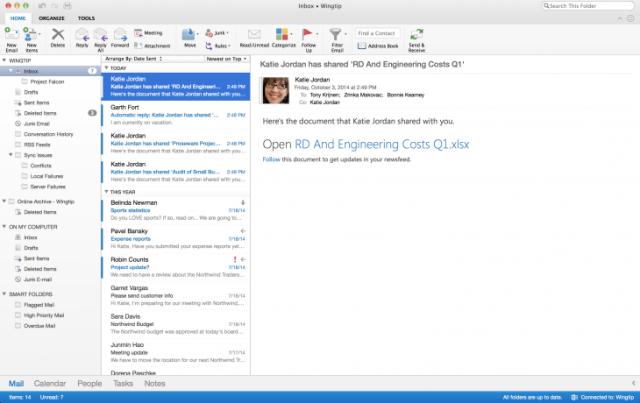 Microsoft paraqet një version tërësisht të ri të Outlook-ut për Mac