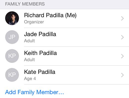 Ja se si ta lëshoni veçorinë Family Sharing në iOS 8 dhe OS X Yosemite