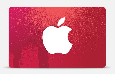 Apple-RED-Gift-Card
