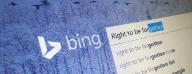 """Bing fillon përpunimin e rezultateve të kërkimit sipas """"të drejtës për t'u harruar"""""""