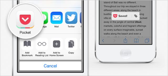 Aplikacioni Pocket për iOS merr mbështetje për 1Password dhe Dynamic Type