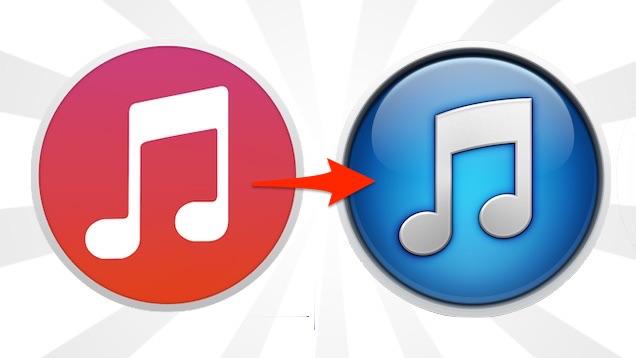 Si të kaloni nga iTunes 12 në iTunes 11