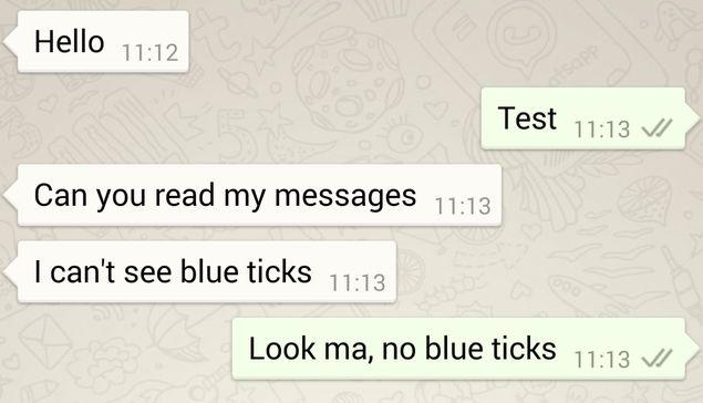 Përditësimi i WhatsApp ju lejon të çaktivizoni opsionin e njoftimit për mesazhin e lexuar
