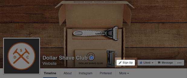Facebook prezanton butona veprimi për faqet