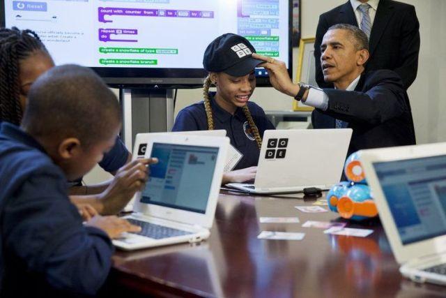 Shtëpia e Bardhë në SHBA do të mbështesë shkencat kompjuterike në shkolla