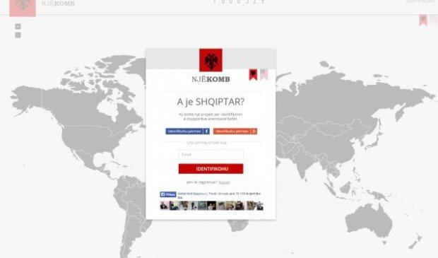 """Faqja që synon të identifikojë shqiptarët """"NjeKomb.com"""" kalon 1 milion persona të identifikuar"""