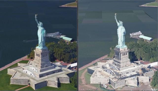 Google po përmirëson cilësinë e modeleve 3D në shërbimin e hartave