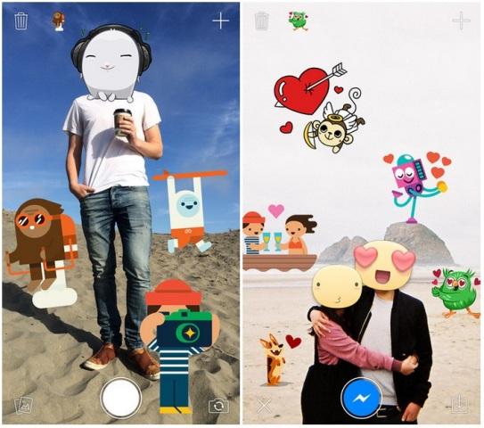 """Aplikacioni """"Stickered"""", shoqëruesi i Messenger vjen në iOS"""