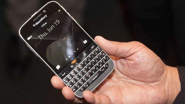 "BlackBerry lançon smartfonin ""Classic"""