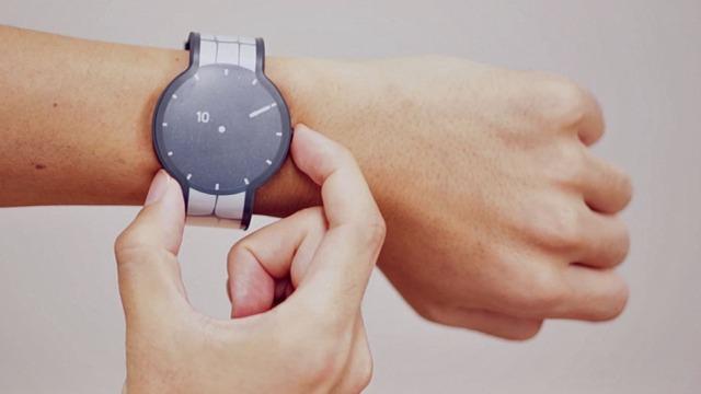 "Sony lançon orën inteligjente inovatore ""FES Watch"" e-ink"