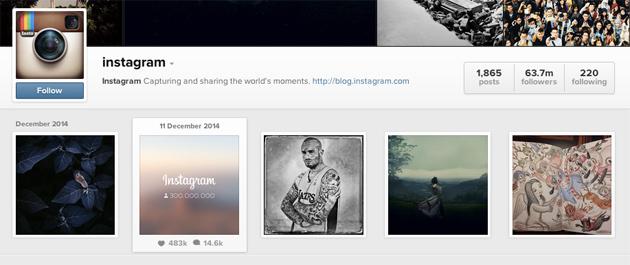 Instagram ka tashmë 300 milion përdorues aktivë