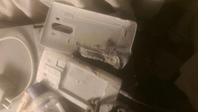 Shpërthen bateria e një përdoruesi të smartfonit LG G3 duke u karikuar