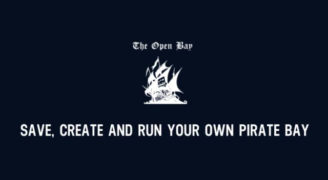 Falë projektit të Open Bay tashmë ekzistojnë 372 kopje të The Piratebay