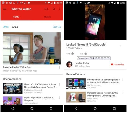 YouTube përditëson versionin për Android