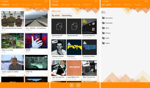 VLC për Windows Phone hyn në fazën beta të testimit