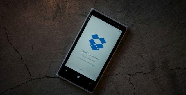 Dropbox publikon aplikacionin zyrtar për Windows Phone