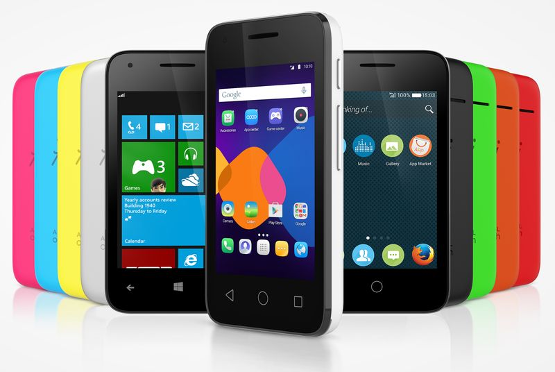 Smartfoni i ri i Alcatel funksionon me Windows, Android apo Firefox OS
