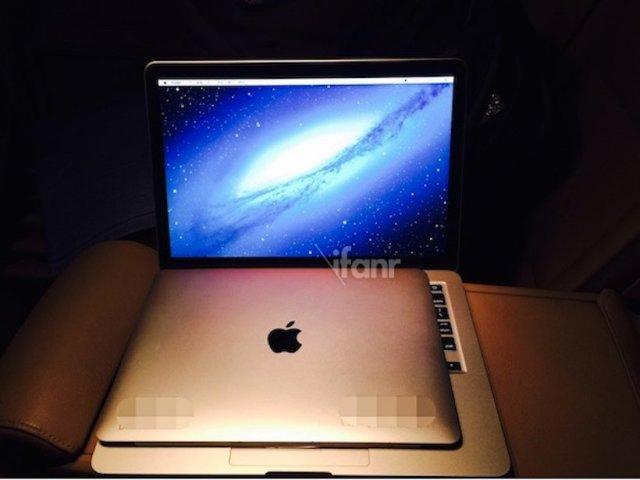 Publikohen online foto të reja të versionit të ardhshëm të Mac Book Air