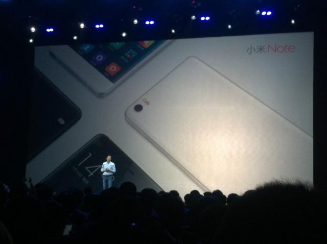 """Xiaomi lançon Mi Note Pro për të """"luftuar"""" kundër iPhone 6 Plus"""
