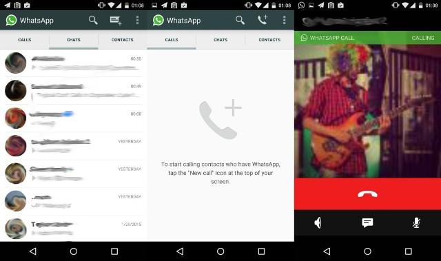 WhatsApp është duke testuar shërbimin e thirrjeve me zë në Android