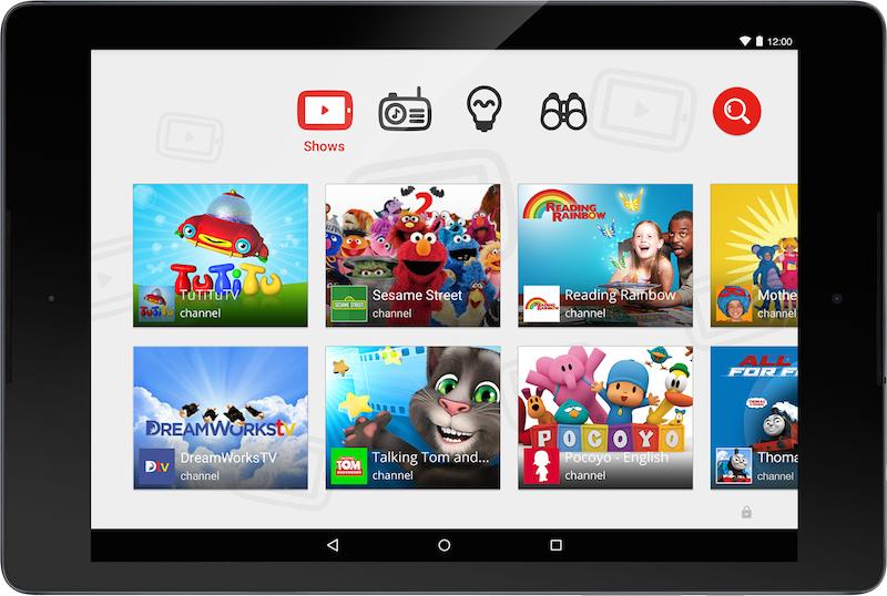 Aplikacioni Youtube Kids u lançua ditën e sotme në platformat Android dhe iOS