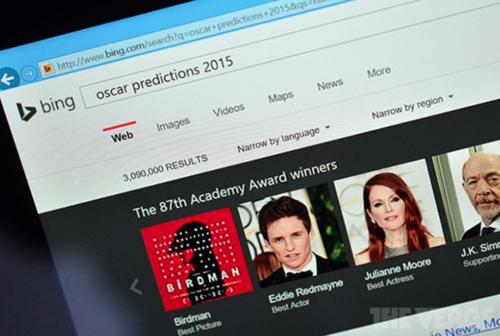 Motori i kërkimit Microsoft Bing parashikoi në mënyrë korrekte fituesit e çmimeve Oscar