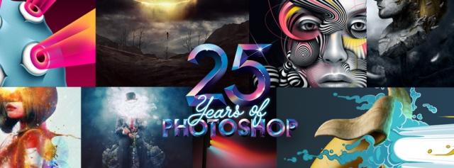 Adobe Photoshop feston datëlindjen e 25-të (Video)