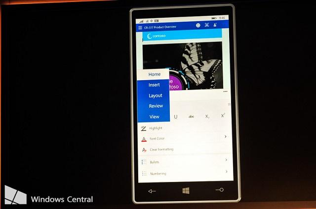 Publikohen imazhe të asistentit virtual Cortana për Office dhe shfletuesit Spartan