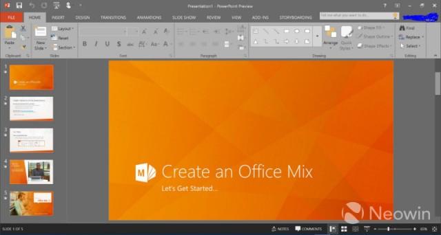 Vëzhgimi teknik i Office 2016 është i disponueshëm për tu shkarkuar nga të gjithë