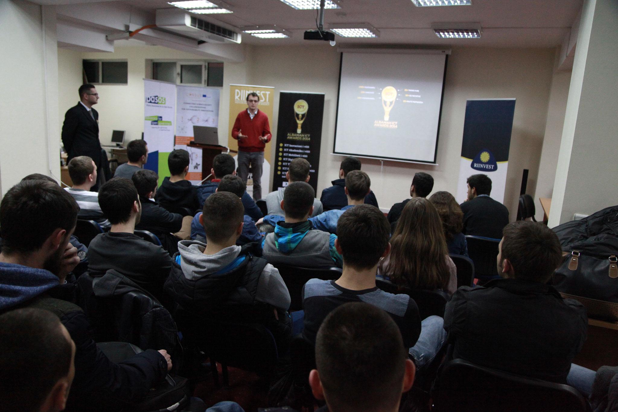 ICT Awards III zbarkon në Prishtinë para studenteve të Kolegjit RIINVEST, javën e ardhshme në Tiranë