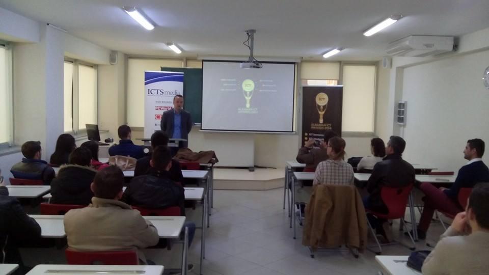 """Albanian ICT Awards III takohet me nxënësit e shkollës së mesme profesionale austriake """"Hermann Gmeiner"""" dhe studentët e Universitetit """"Bedër"""""""